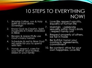10 Steps to Everything Now