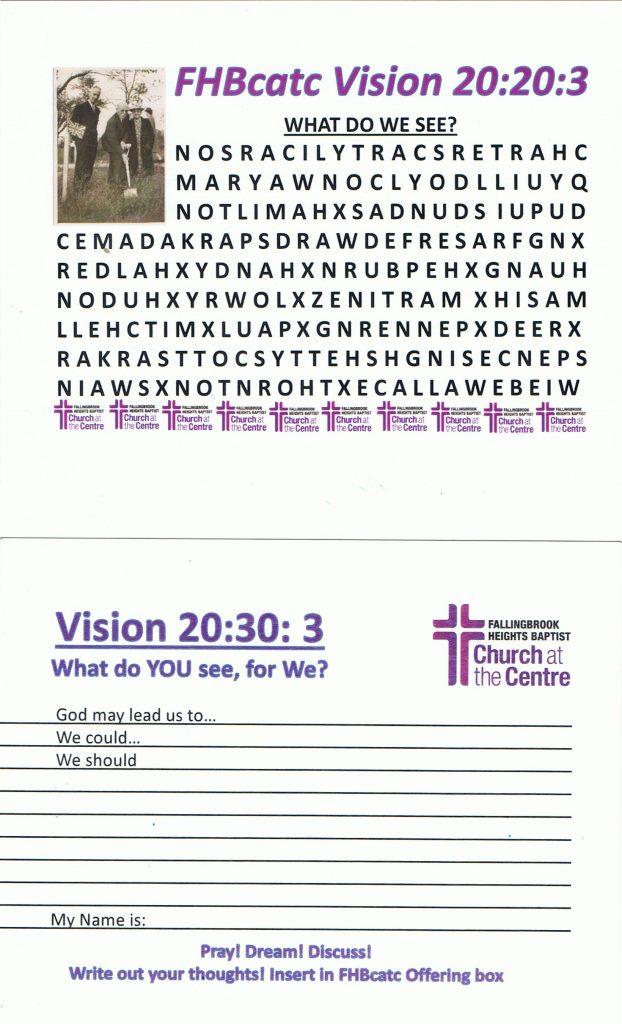 FHBcatc Vision 20:20:3