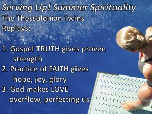 Serving Up Summer Spirituality